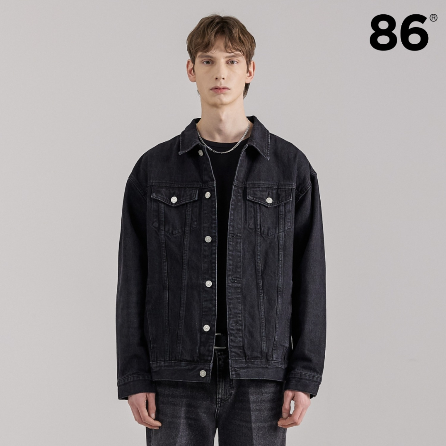 2724 Washing denim jacket (Black)_10th Reorder