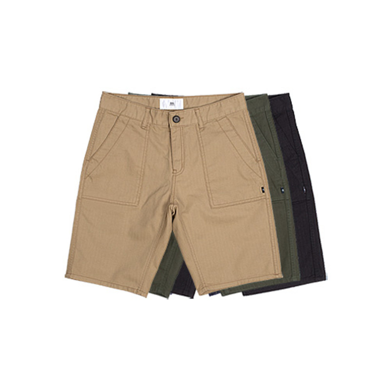 86RJ-1716 slim fatigue shorts