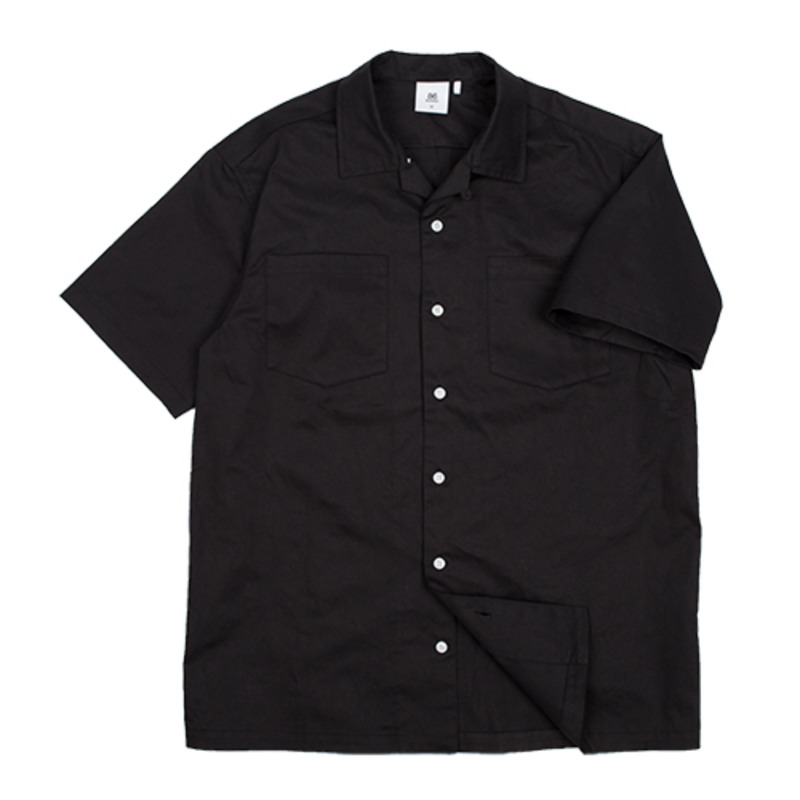 86RT-2715 bowling shirt (black)