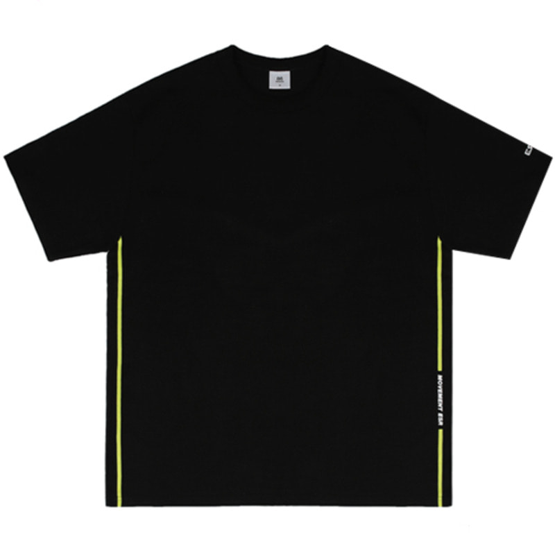 2817 ESR side t-shirts(Black)