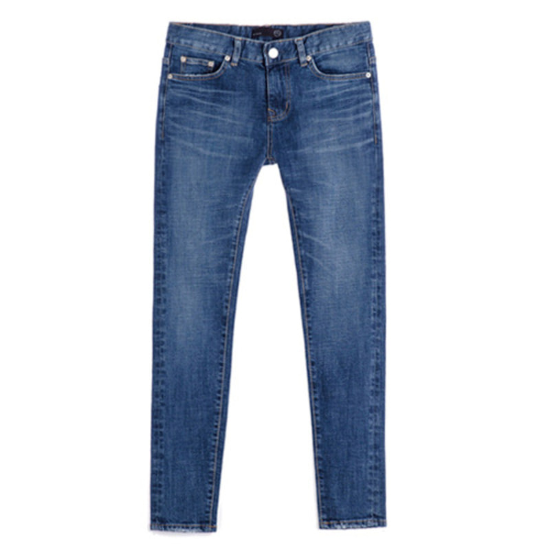 1606 basic washing jeans(D/Blue)