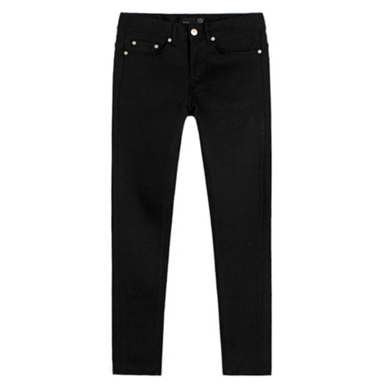 [BEST] 1611 pure black jeans