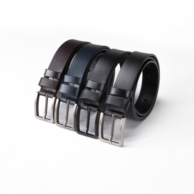 BASIC ITALIAN LEATHER BELT