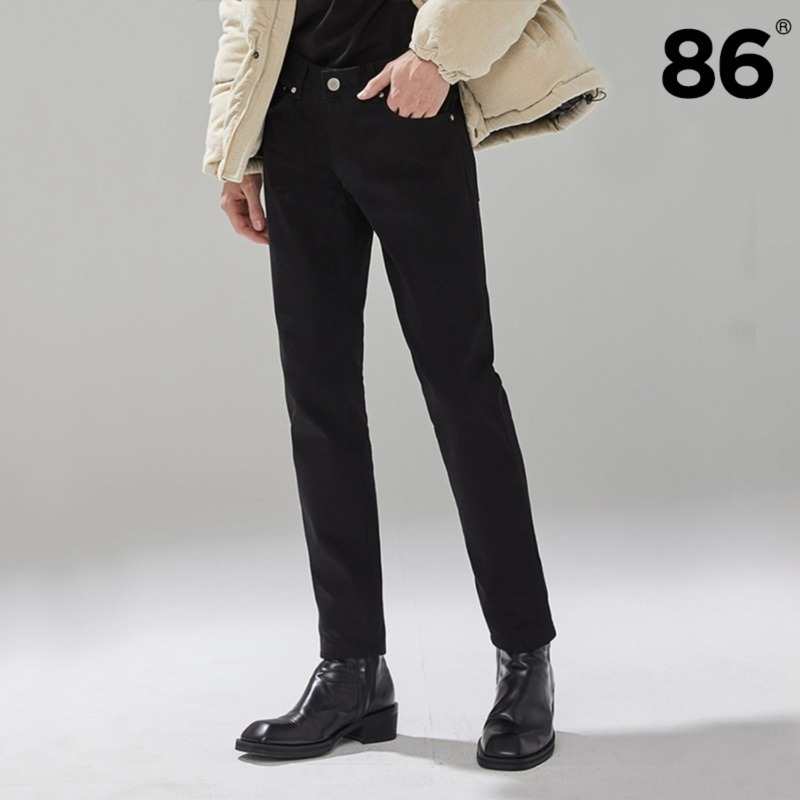 [BEST] 1611 pure black jeans / slim