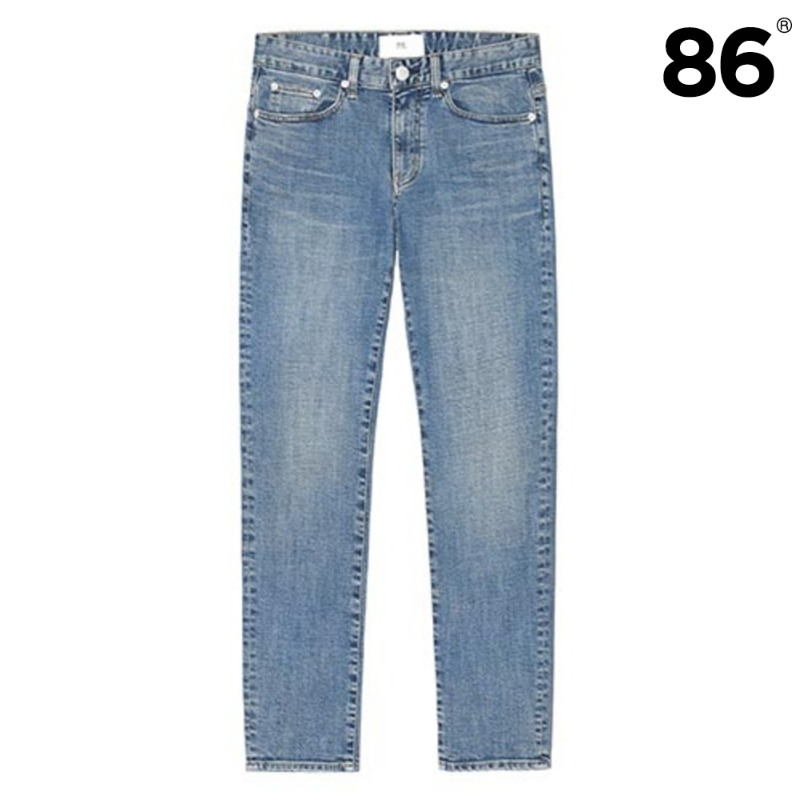 1606 basic washing jeans(M/Blue) / slim