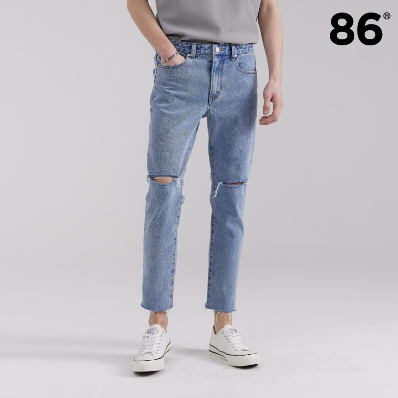 1713 slim cutting jeans L/BLUE(슬림핏)