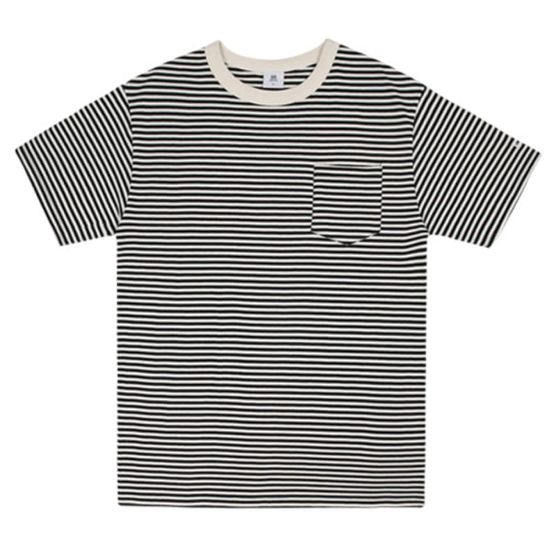 2815 Stripe t-shirts(Black)