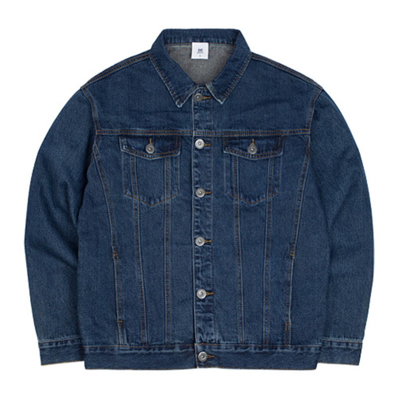 [10/23 예약발송]2724 Washing denim jacket (Blue)