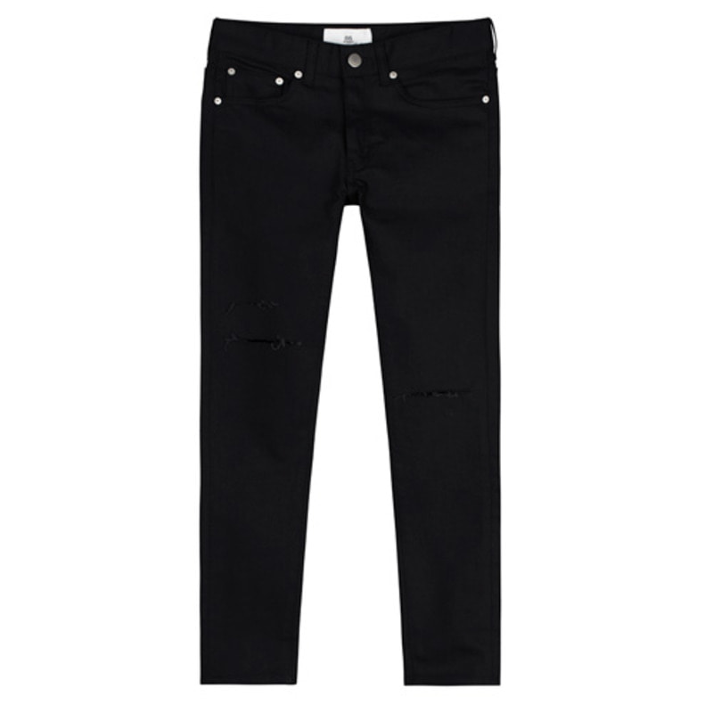 [BEST]1612 black cutting washing jeans (박보검 착용)